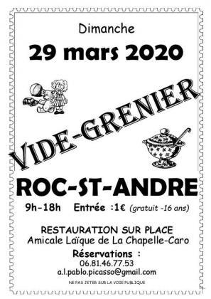 Vide-greniers - Le Roc-Saint-André