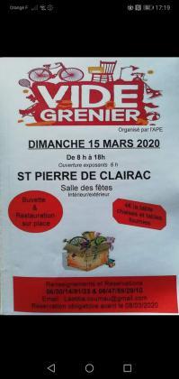 Vide-greniers de Saint-Pierre-de-Clairac