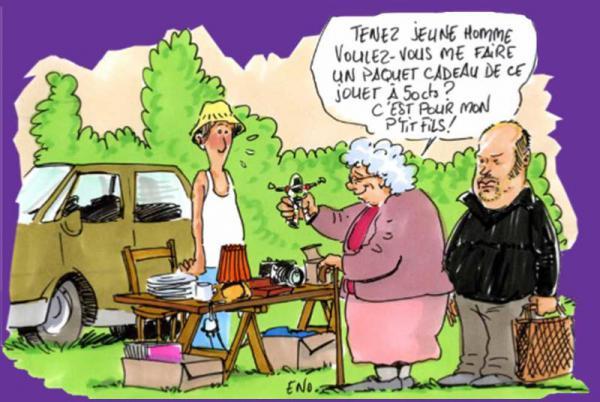 Marché aux puces de Saint-Igny-de-Roche