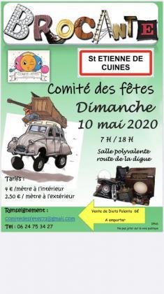 Brocante Vide-greniers de Saint-Étienne-de-Cuines