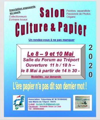 Salon Culture et Papier - Le Tréport