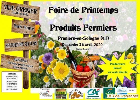 Vide-greniers de Pruniers-en-Sologne