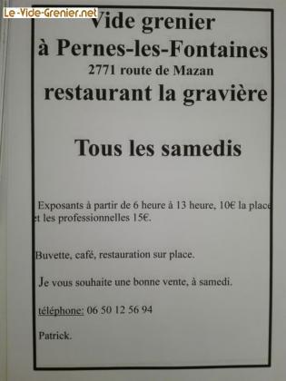 Vide-greniers de Pernes-les-Fontaines