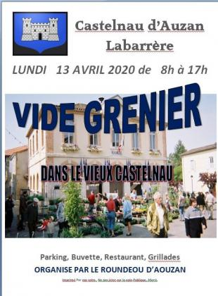 Vide-greniers de Castelnau-d'Auzan