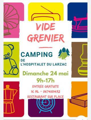 Vide-greniers de L'Hospitalet-du-Larzac