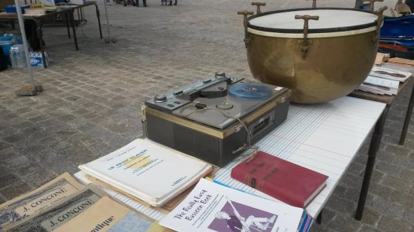 Marché aux instruments et braderie musicale de Saint-Bénigne