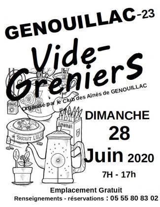 Vide-greniers de Genouillac