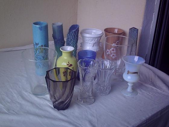 Vases de 0,50 € à 5 €