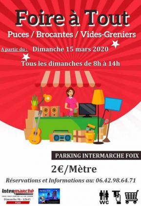 Foire à tout - Brocante - Vide grenier de Foix