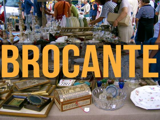 Brocante et collections de Sainte-Maxime