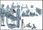 Brocante Vide-greniers de Lavaveix-les-Mines