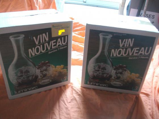 Services à Vin Nouveau 7 pièces-neufs