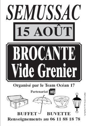 Brocante Vide-greniers de Semussac