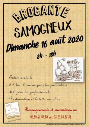 Brocante Vide-greniers de Samogneux