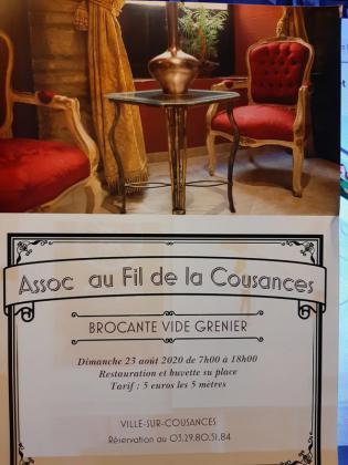 Brocante Vide-greniers de Ville-sur-Cousances
