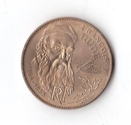 Pièce 10 Francs François Rude 1984