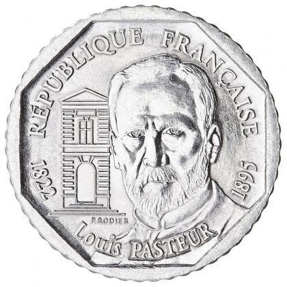 Pièce de 2 francs Louis Pasteur