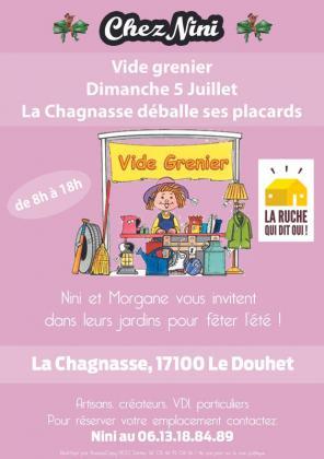 Vide-greniers - Le Douhet