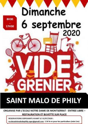 Vide-greniers de Saint-Malo-de-Phily