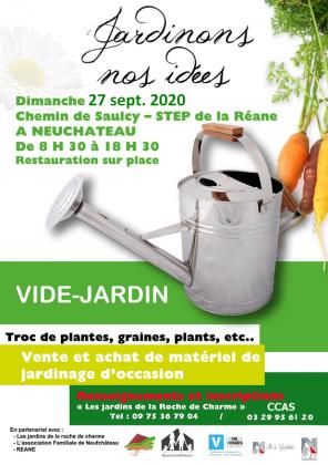 Vide-jardin de Neufchâteau