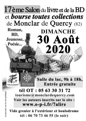 Salon du livre et de la BD de Monclar-de-Quercy