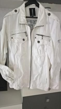 Blouson jean's blanc