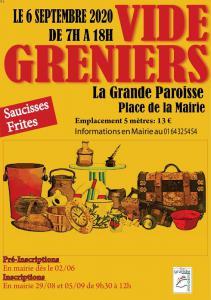 Vide-greniers de La Grande-Paroisse