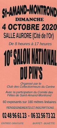 Salon national du pin's de Saint-Amand-Montrond