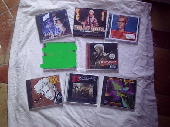 CD et DVD de Billy IDOL