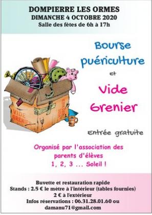 Vide-greniers de Dompierre-les-Ormes