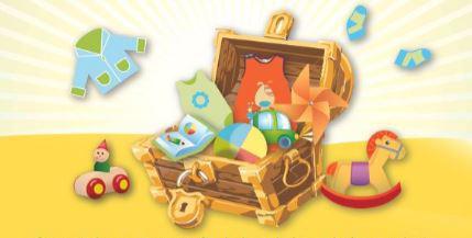 Vide-coffres à jouets Puériculture de Ladon