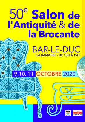 Salon de l'antiquité et de la brocante de Bar-le-Duc