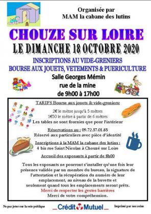 Vide-greniers de Chouzé-sur-Loire