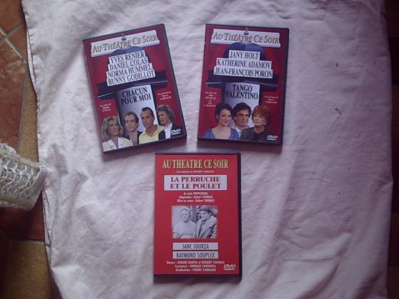 DVD et K7 Vidéo VHS Divertissement et Musical
