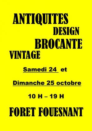 Salon Antiquités Design Brocante de La Forêt-Fouesnant