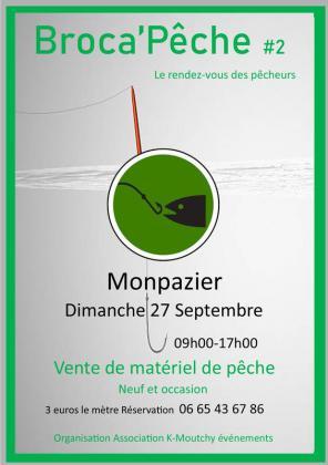 Broca pêche de Monpazier