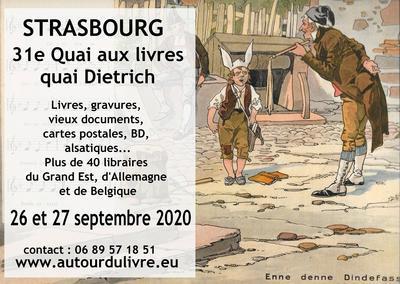 Quai aux livres de Strasbourg