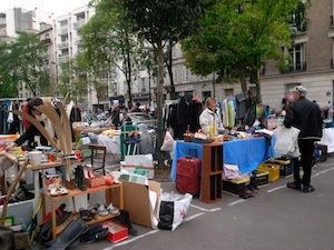 Vide-greniers de Paris 20