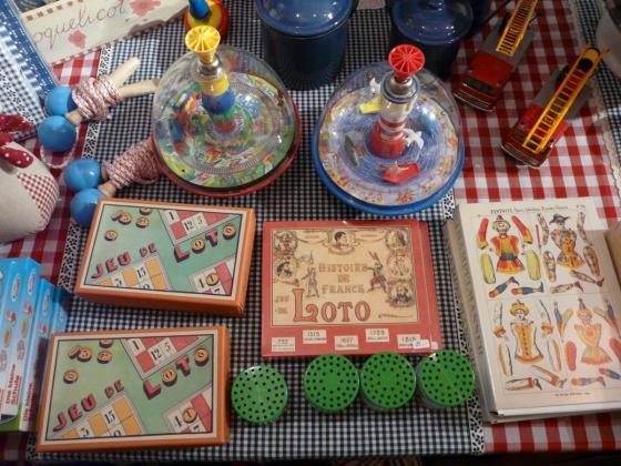 Bourse de jouets anciens et de collections de Vincey