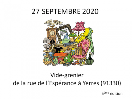 Vide-greniers - Yerres