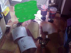 diverses Lampes, Suspensions, Applique...