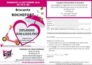 Brocante Vide-greniers de Rochefort