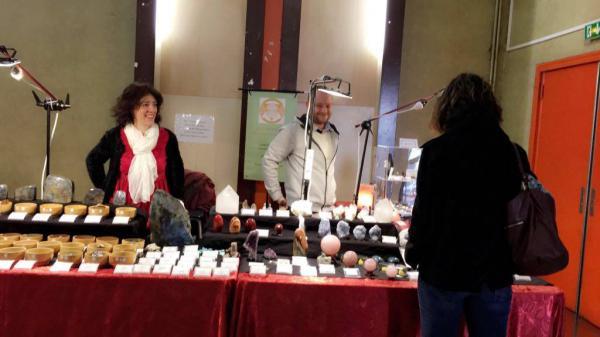 Salon des minéraux cristaux bijoux et de l'art minéral art folie's