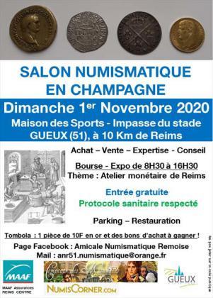 Salon numismatique de Gueux