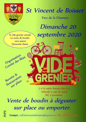 Vide-greniers de Saint-Vincent-de-Boisset