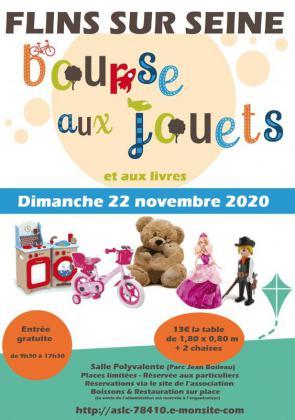 Bourse aux Jouets et Livres de Flins-sur-Seine