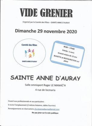 Vide-greniers de Sainte-Anne-d'Auray