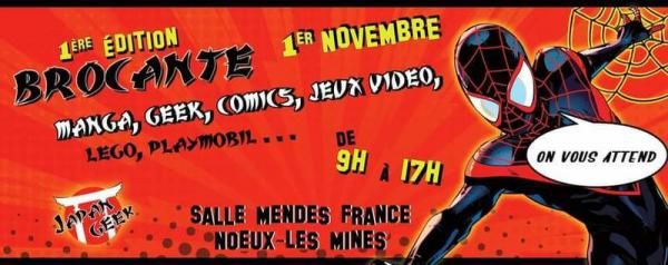 Brocante Manga geek comic de Nœux-les-Mines