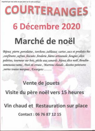 Marché de Noël de Courteranges