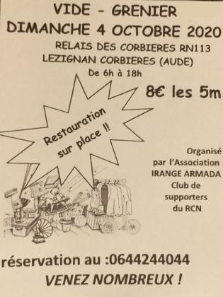 Vide-greniers de Lézignan-Corbières